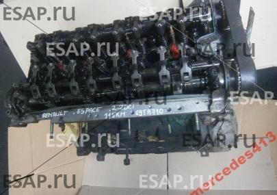 Двигатель RENAULT ESPACE 2.2 DCI 02 115KM G9T A710  Дизельный