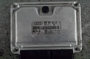 БЛОК УПРАВЛЕНИЯ ДВИГАТЕЛЕМ Audi A4 A6 3.0 ASN z PINEM