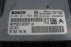 БЛОК УПРАВЛЕНИЯ ДВИГАТЕЛЕМ Peugeot 307 407 308 1.6 2.0 HDI