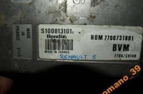 БЛОК УПРАВЛЕНИЯ ДВИГАТЕЛЕМ Renault 5  1,4     HOM 7700731801