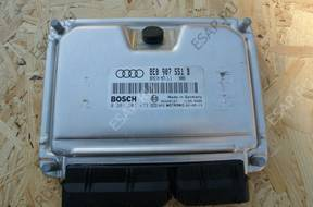 БЛОК УПРАВЛЕНИЯ  ДВИГАТЕЛЯ Audi A4 b6 3.0 8E0907551B