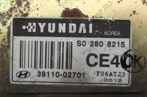 БЛОК УПРАВЛЕНИЯ hyundai   S02808215 39110-02701