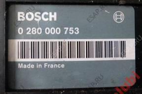 БЛОК УПРАВЛЕНИЯ Peugeot Citroen ZX AX 205 106  0280000753