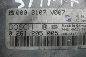 БЛОК УПРАВЛЕНИЯ   SMART 0.6 T TURBO 0261205005