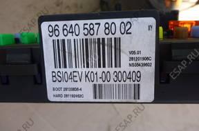 BSI МОДУЛЬ K01-00 CITROEN BERLINGO 1.6 HDI 2008-