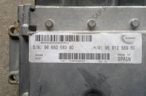 Citroen Jumper 2.2HDI БЛОК УПРАВЛЕНИЯ ДВИГАТЕЛЕМ 9665066380
