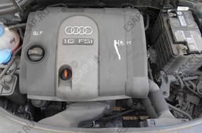 двигатель 1.6 FSI AUDI VW SEAT SKODA BLF комплектный
