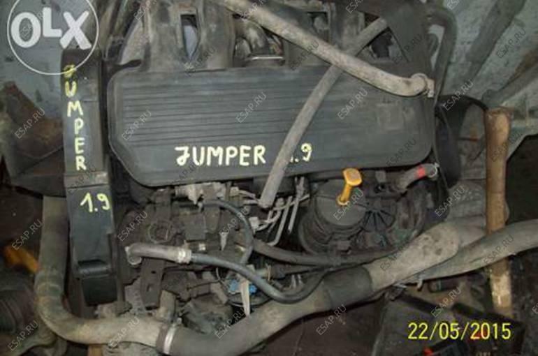 двигатель Citroen Jumper 1.9 D