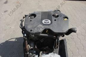 двигатель комплектный Mazda Premacy и 2,0TD