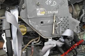двигатель RENAULT MEGANE CLIO 1.9 D KANGOO 24H 02 год,