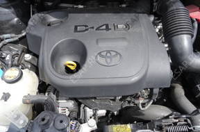 двигатель TOYOTA AURIS YARIS II лифт. версия 1.4 D4D 90KM