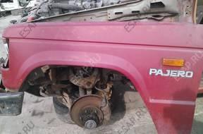 mitsubishi pajero двигатель дизельный 89 год tylny most