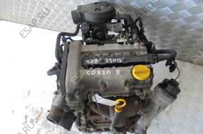OPEL CORSA B 1.0 12V двигатель комплектный с OSPRZETEM